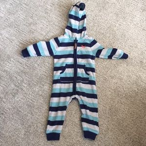 Carter's Fleece Jogging Suit Onsie